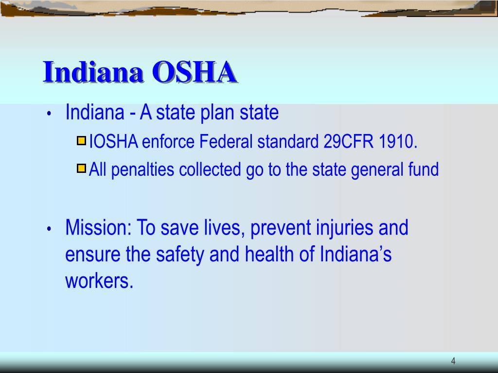 Indiana OSHA