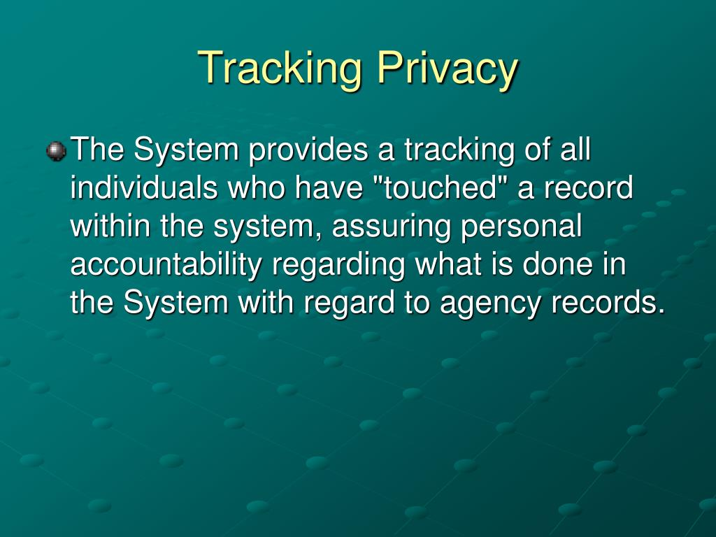 Tracking Privacy