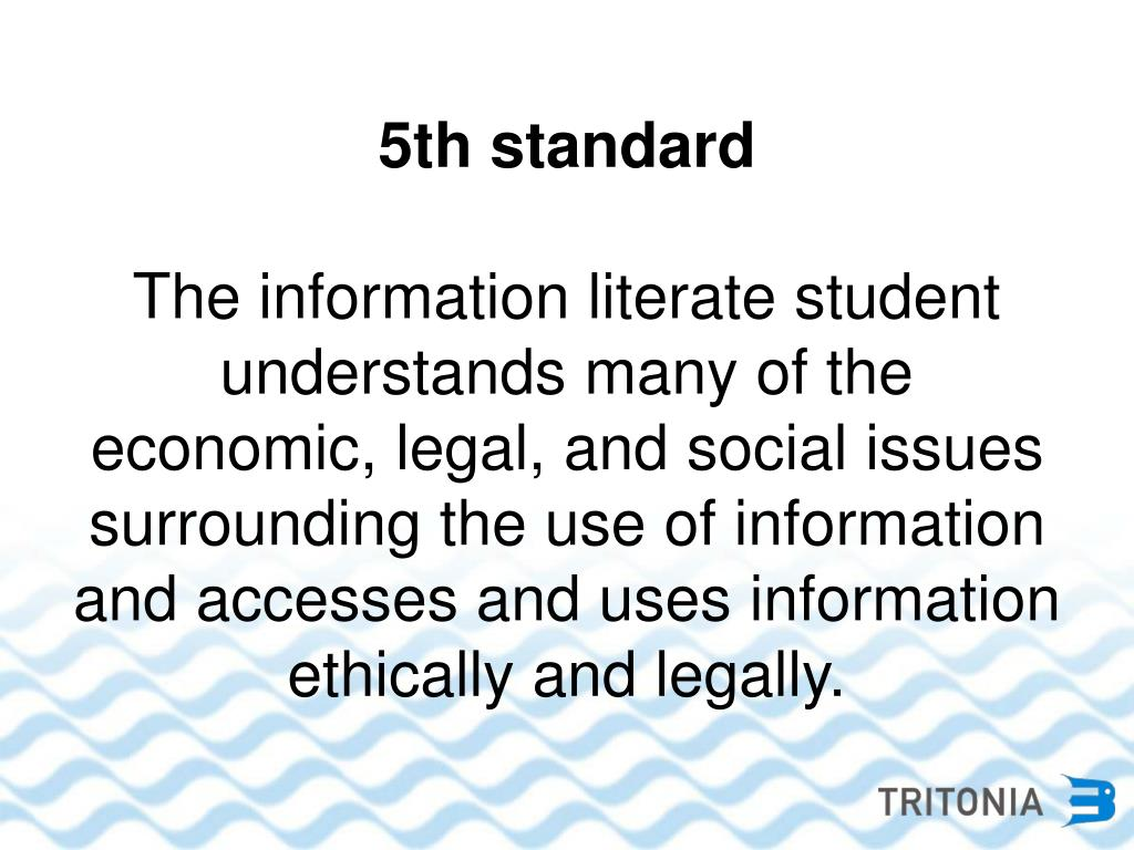 5th standard