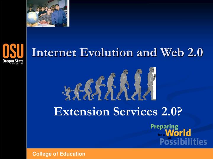 Internet evolution and web 2 0