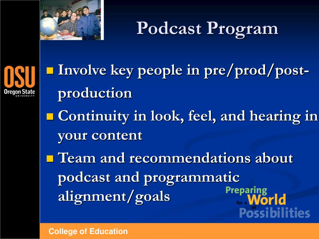 Podcast Program
