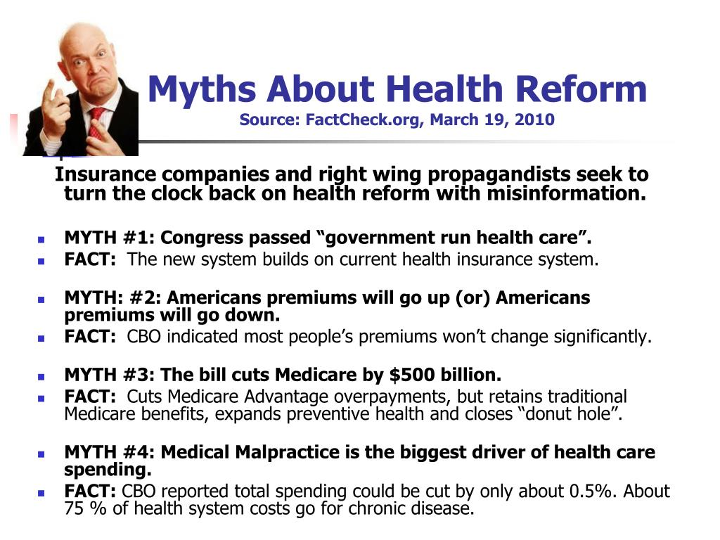 Myths About Health Reform