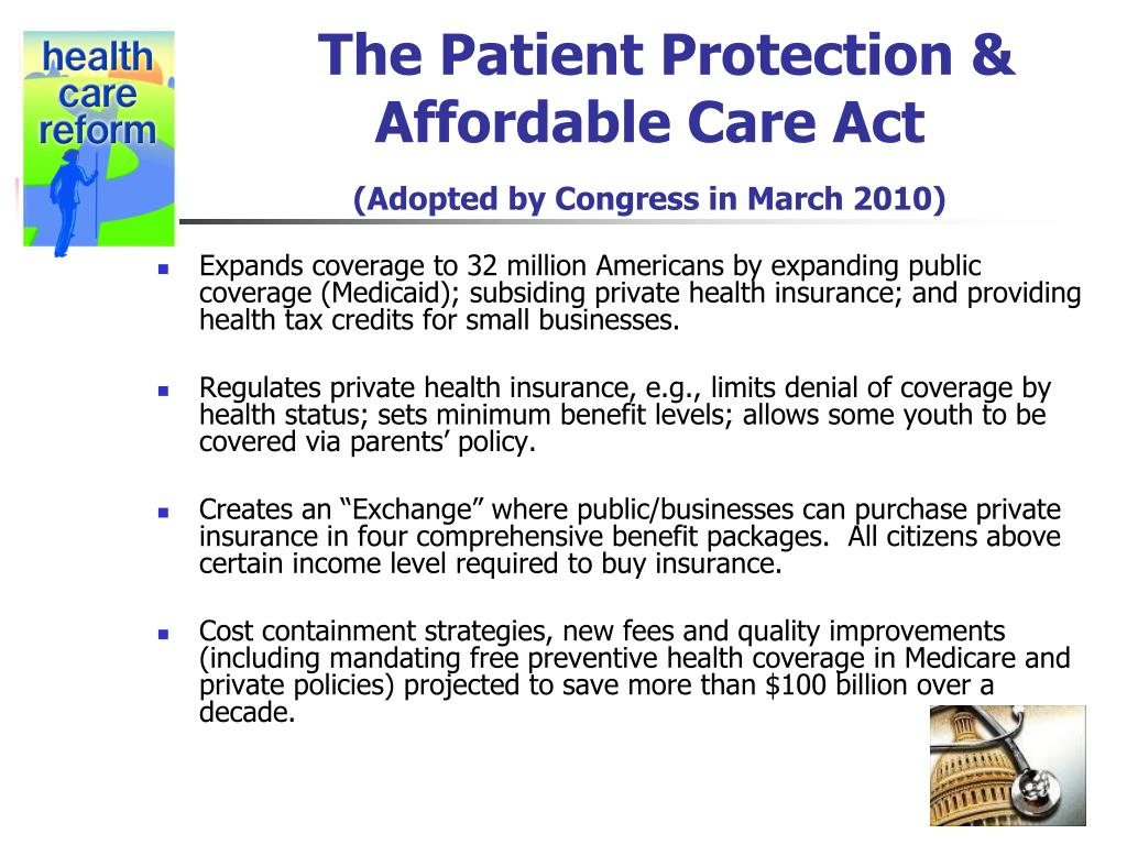 The Patient Protection &