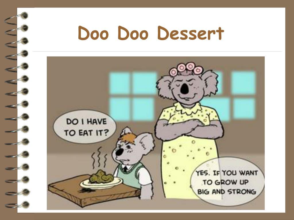 Doo Doo Dessert