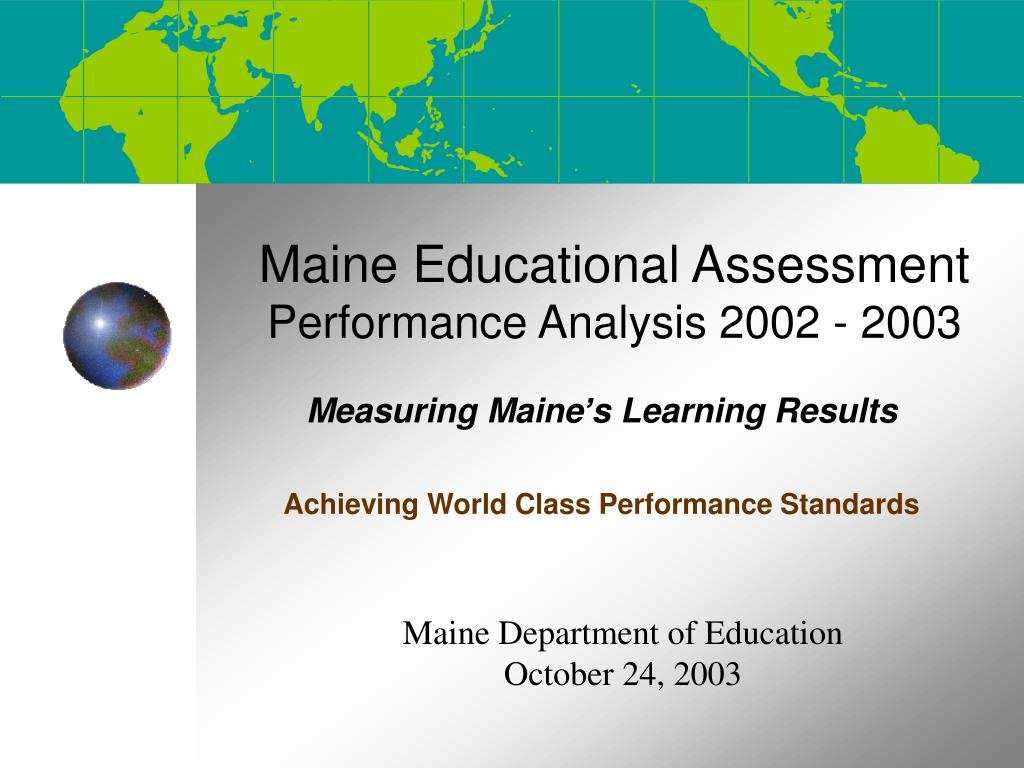 Maine Educational Assessment