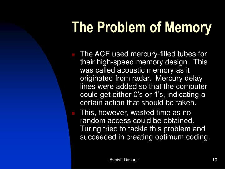 The Problem of Memory