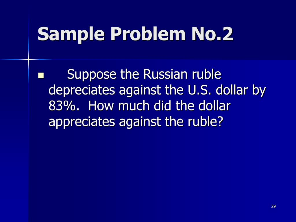 Sample Problem No.2