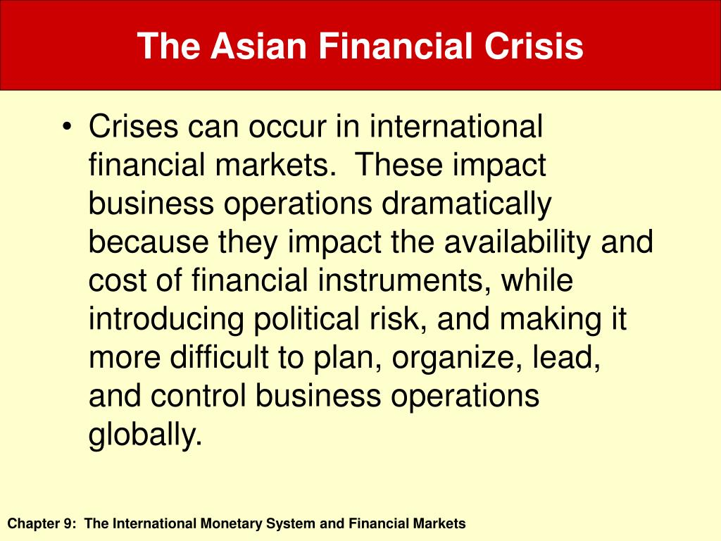 the east asia crisis essay The east asian crisis has affected almost all of the asian nations, but the three hardest hit countries are thailand, indonesia, and south korea financial crisis are many a declining asian economy will reduce demand for us and other countries exports the devalued currencies of east asia.