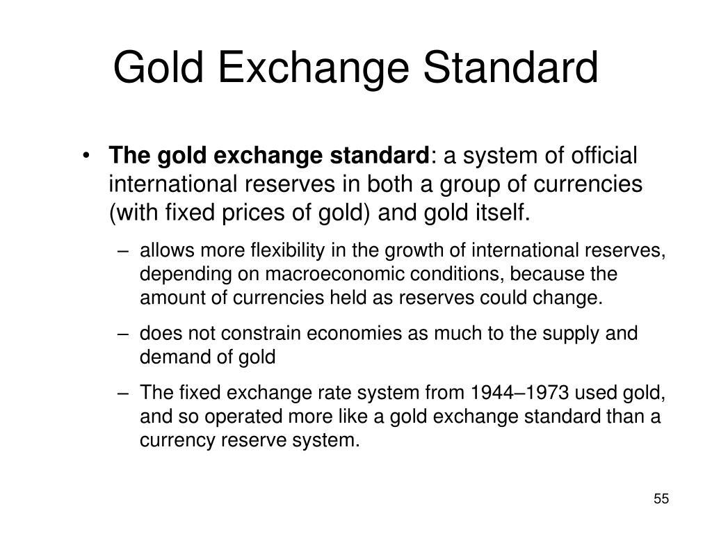 Gold Exchange Standard