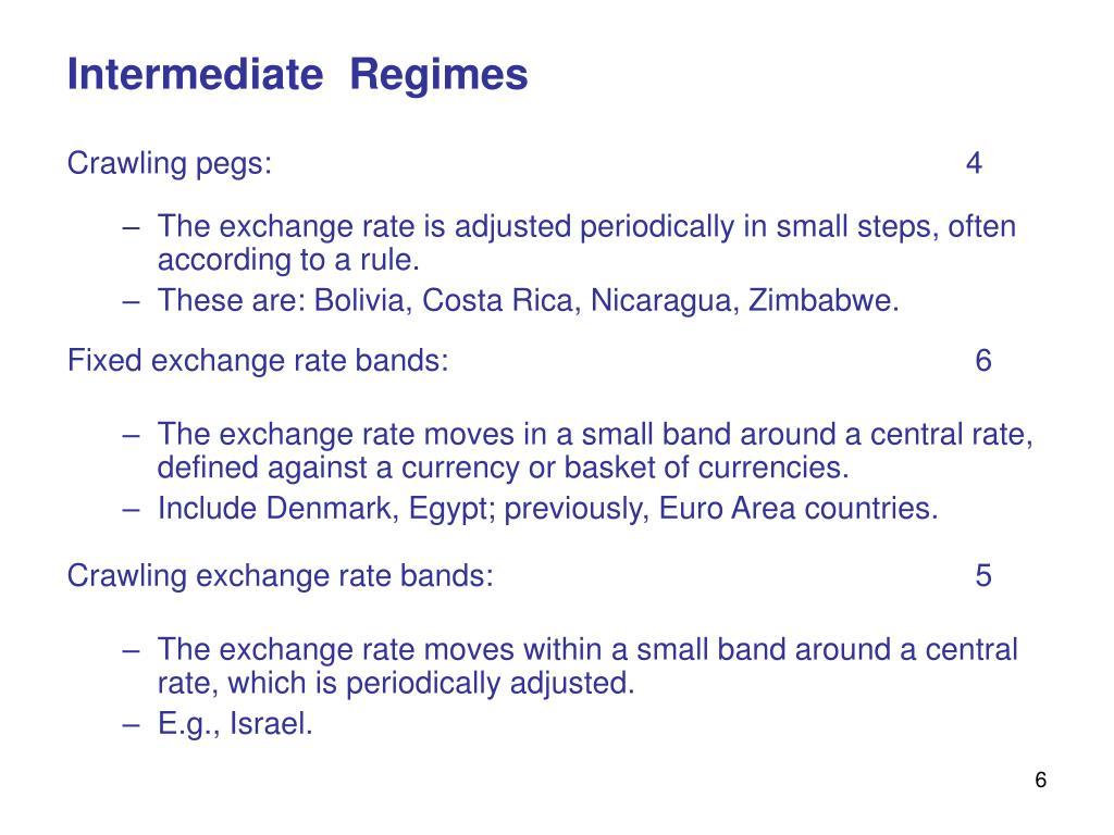 Intermediate  Regimes