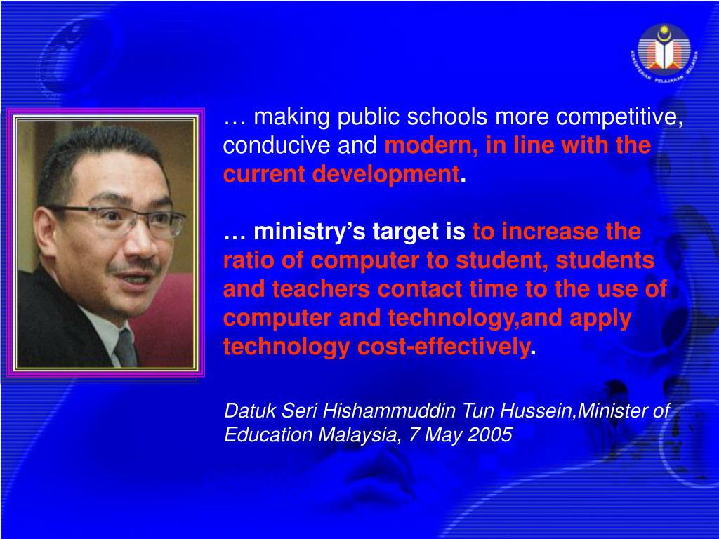 … making public schools more competitive, conducive and