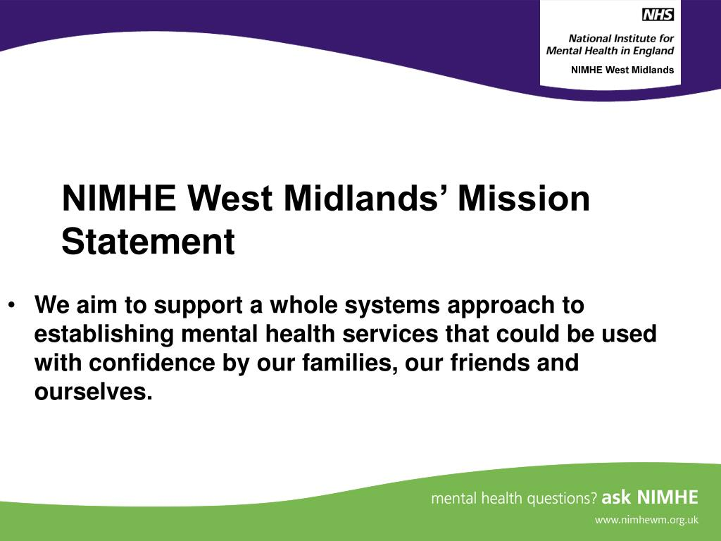 NIMHE West Midlands