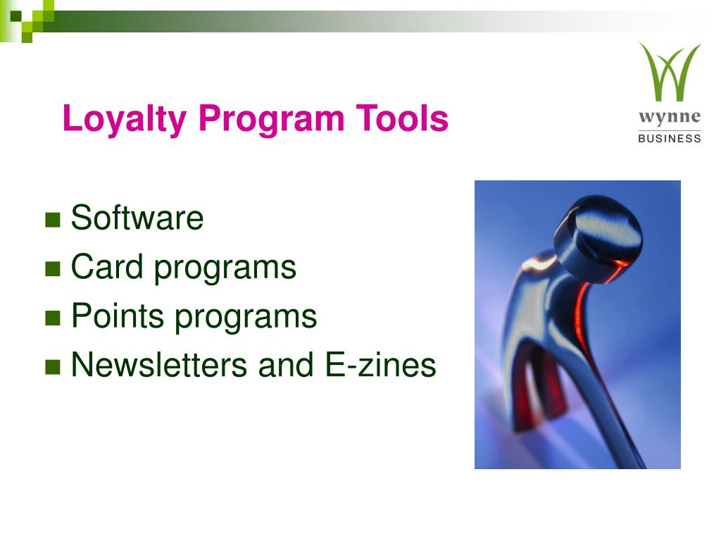 Loyalty Program Tools