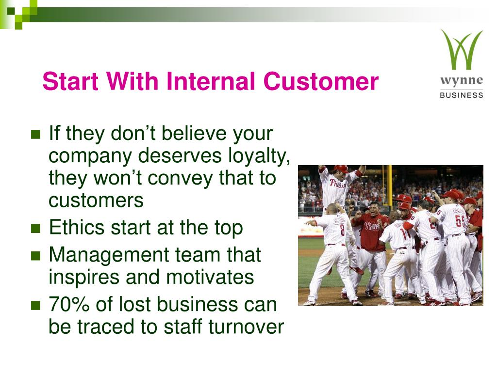Start With Internal Customer