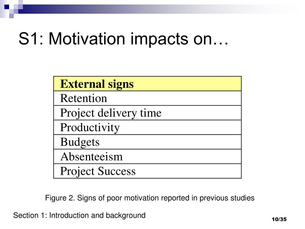 S1: Motivation impacts on…