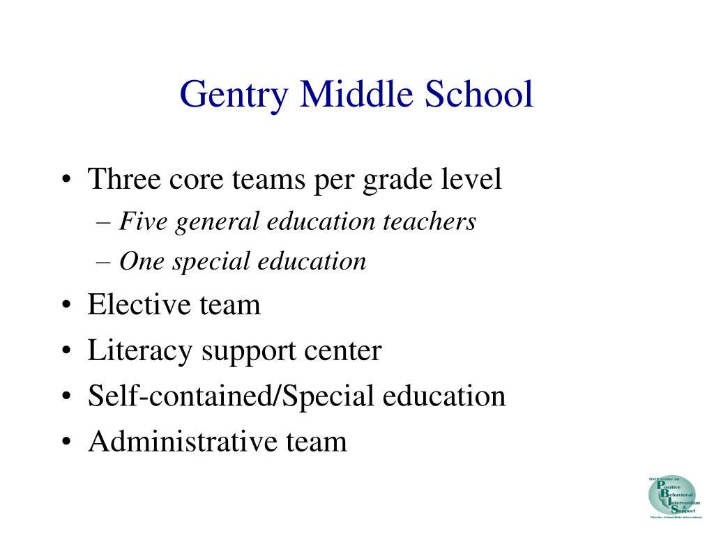 Gentry Middle School