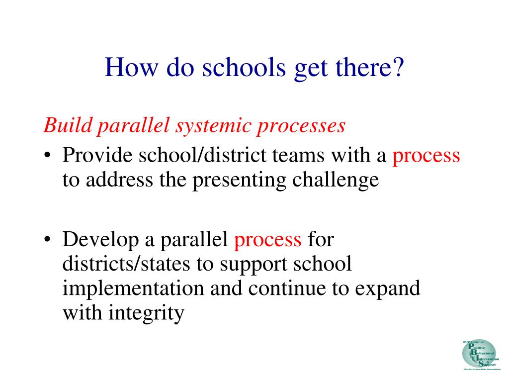 How do schools get there?