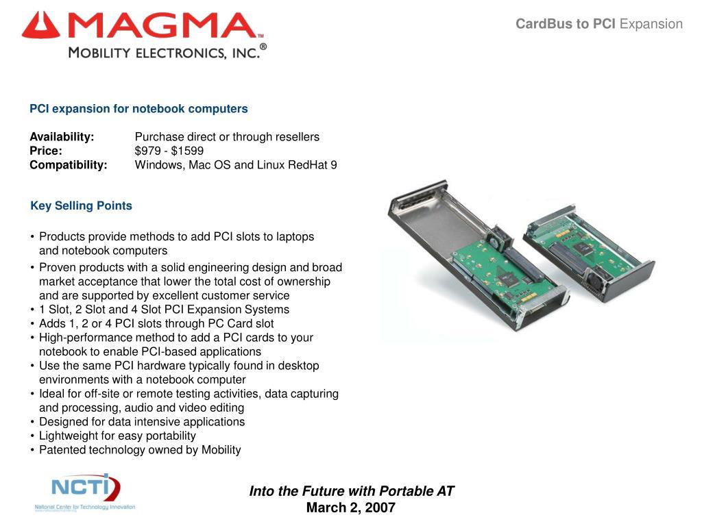 CardBus to PCI