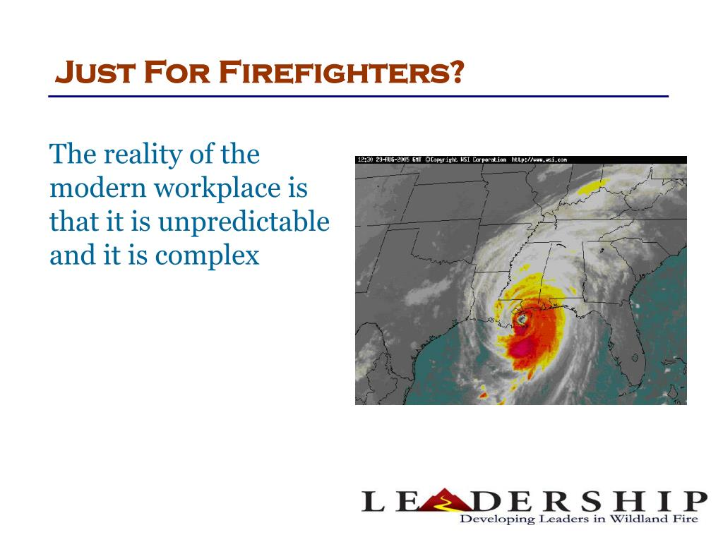 Just For Firefighters?