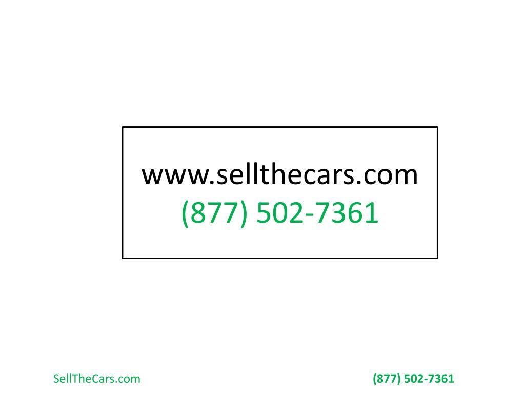 www.sellthecars.com