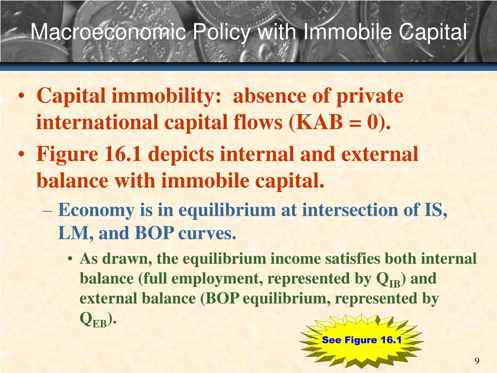 Macroeconomic Policy with Immobile Capital