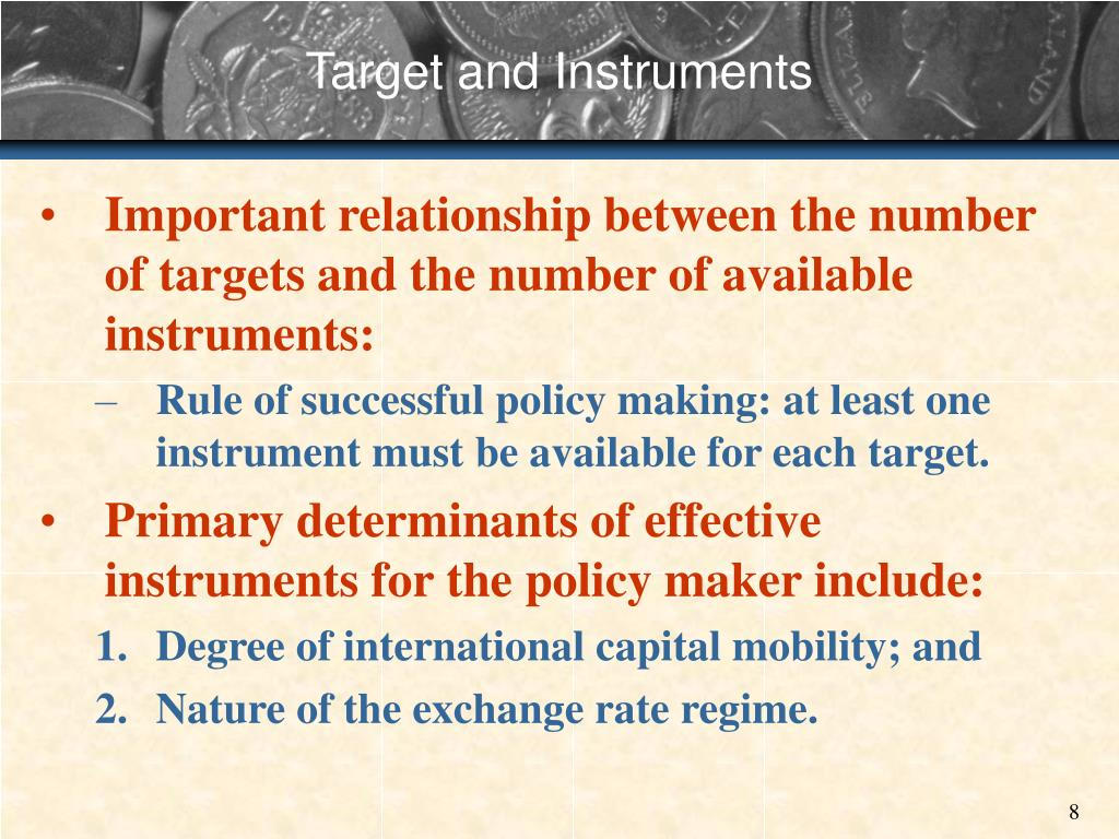 Target and Instruments