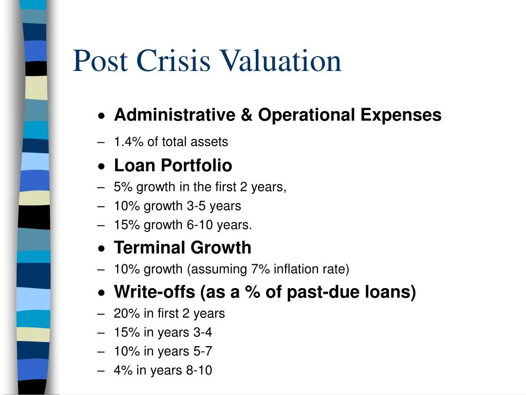 Post Crisis Valuation