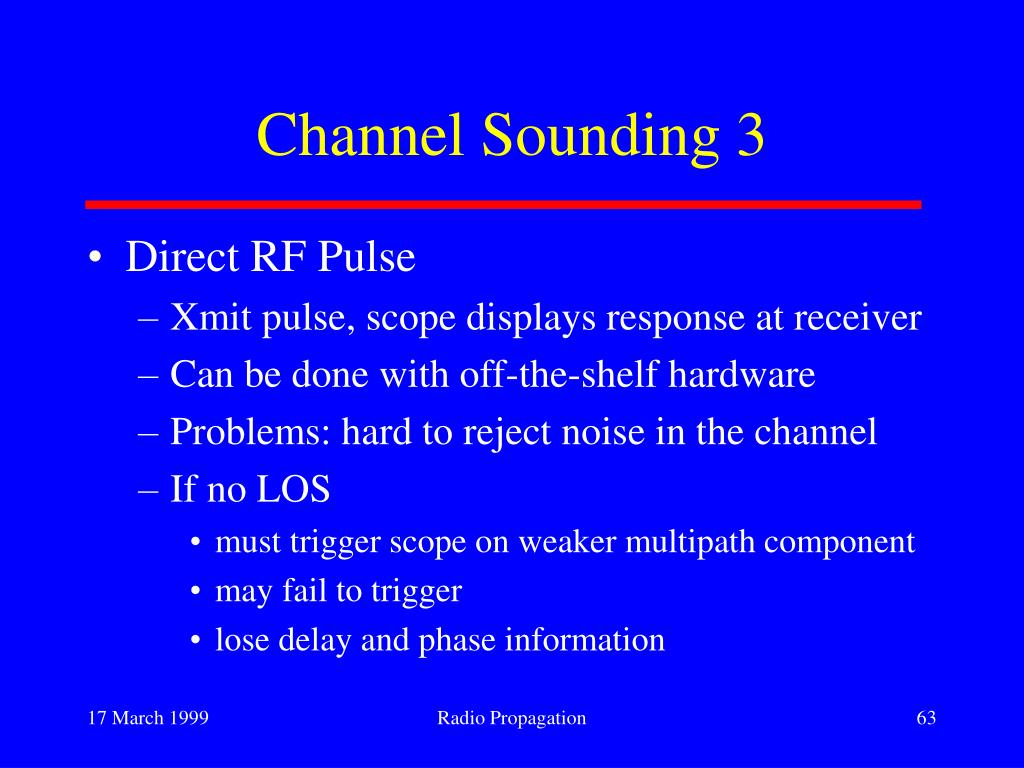 Channel Sounding 3