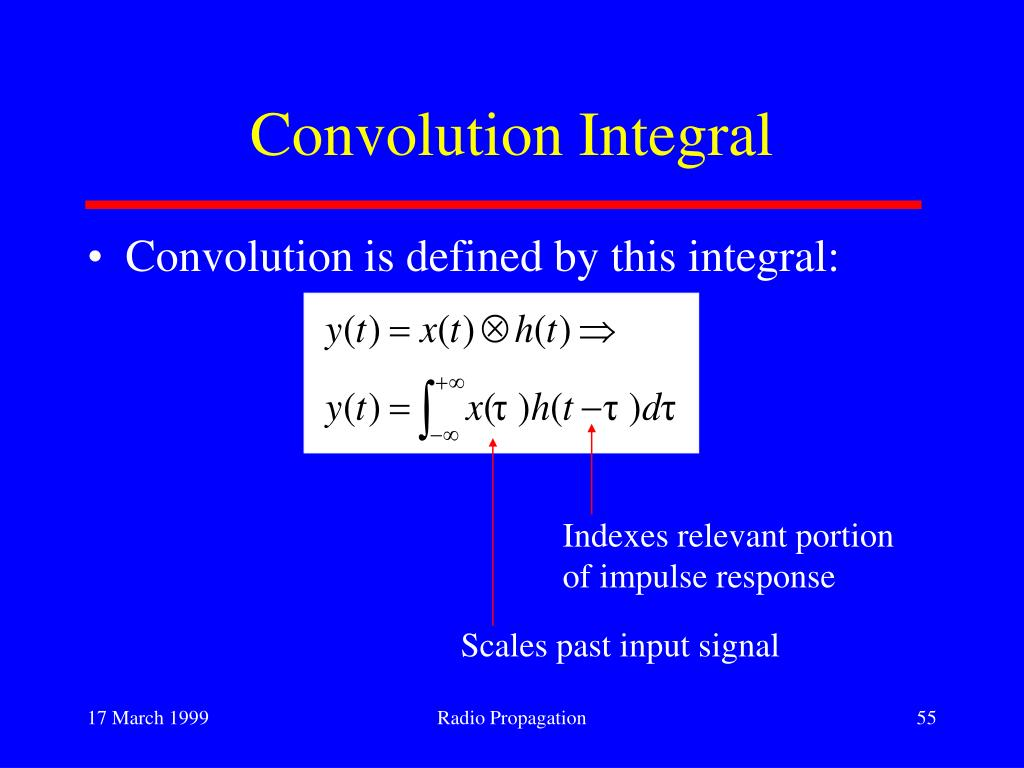 Convolution Integral