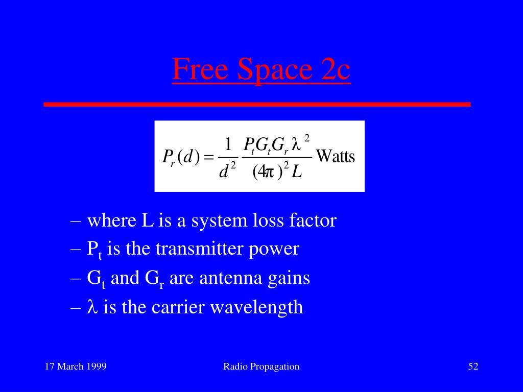 Free Space 2c