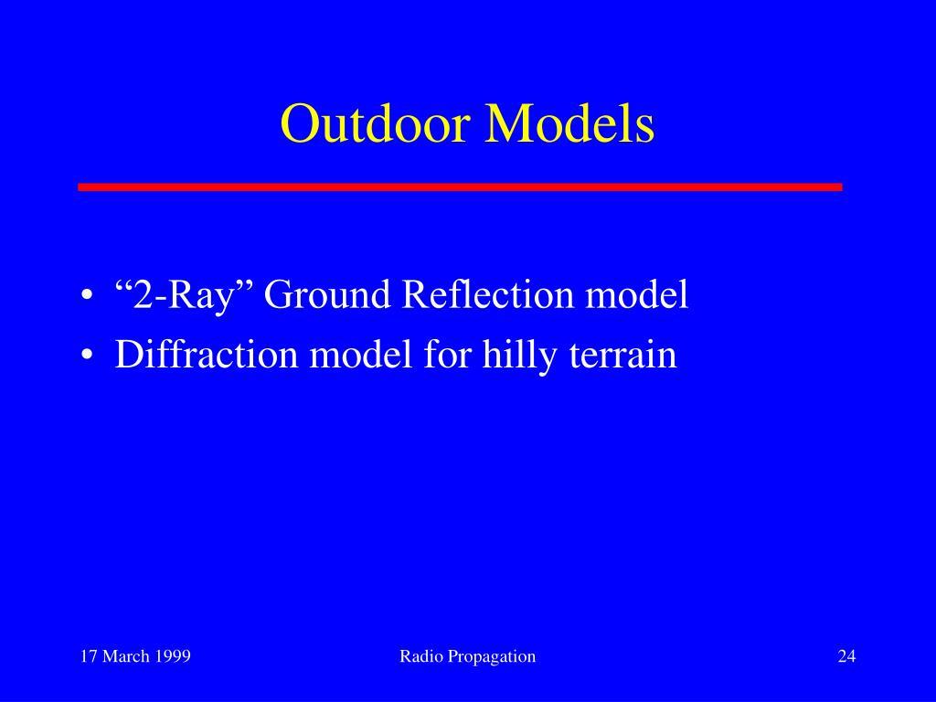 Outdoor Models