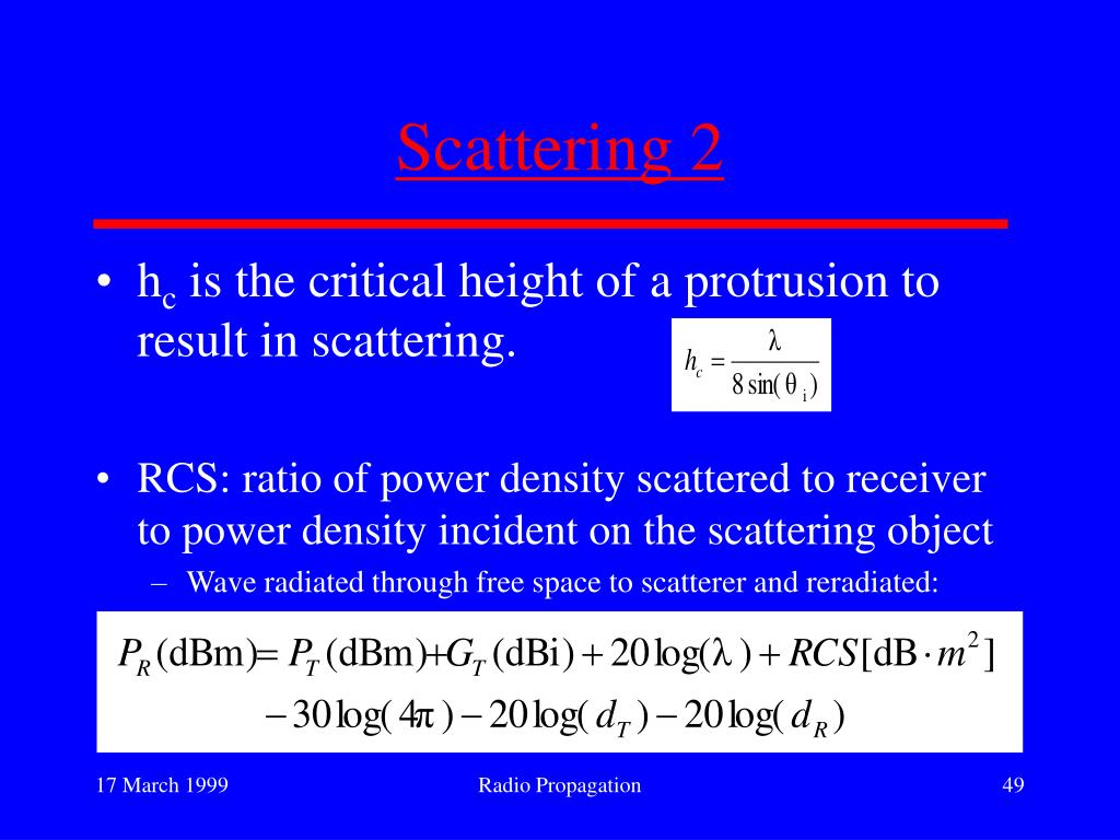 Scattering 2