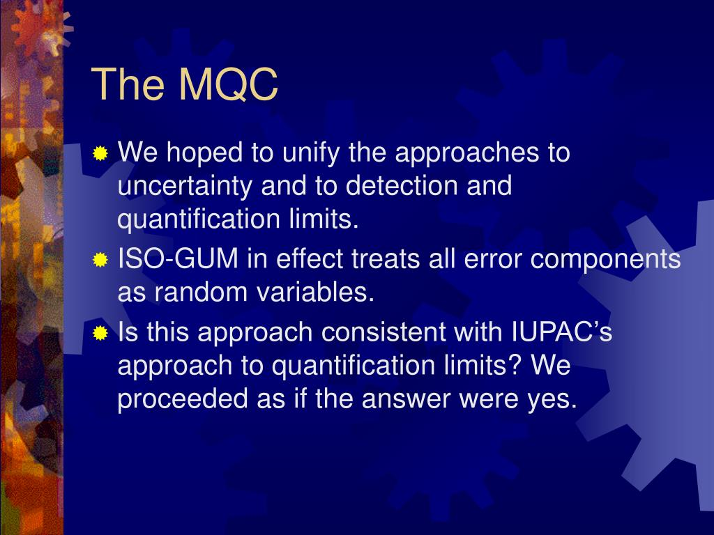 The MQC
