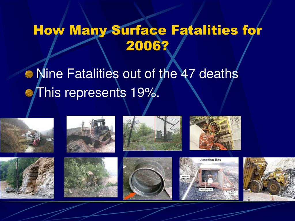How Many Surface Fatalities for 2006?
