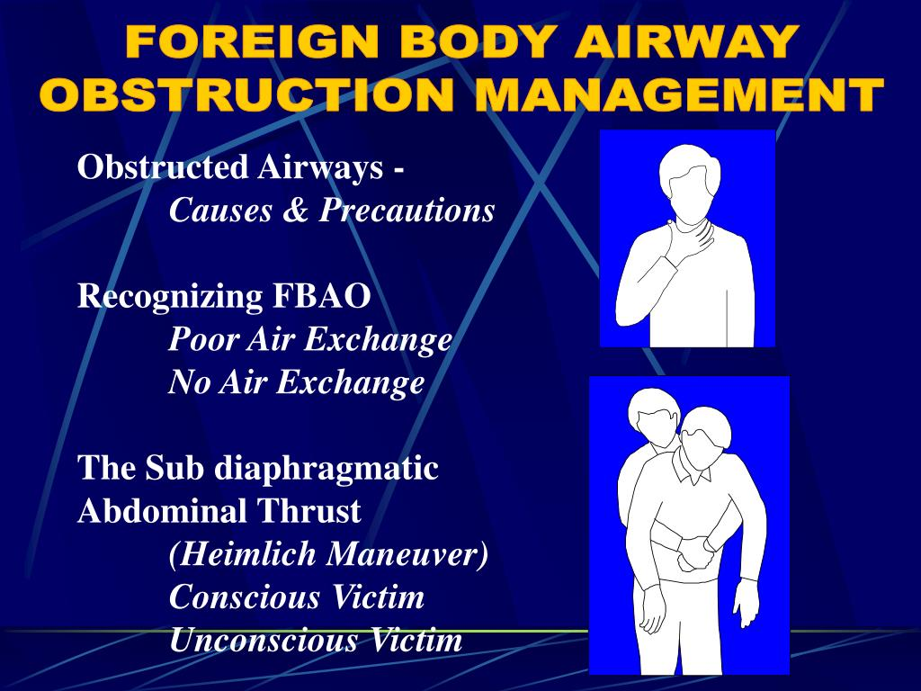 FOREIGN BODY AIRWAY
