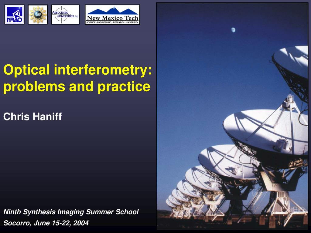Optical interferometry: problems and practice