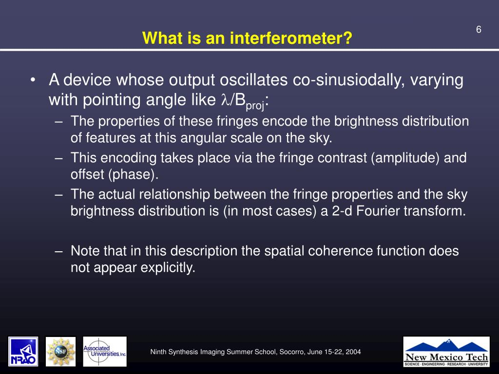 What is an interferometer?