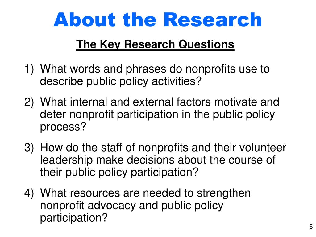About the Research
