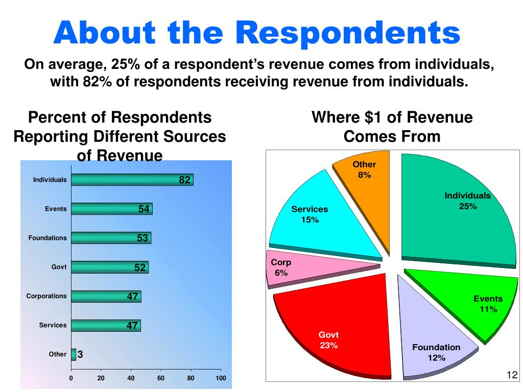 About the Respondents