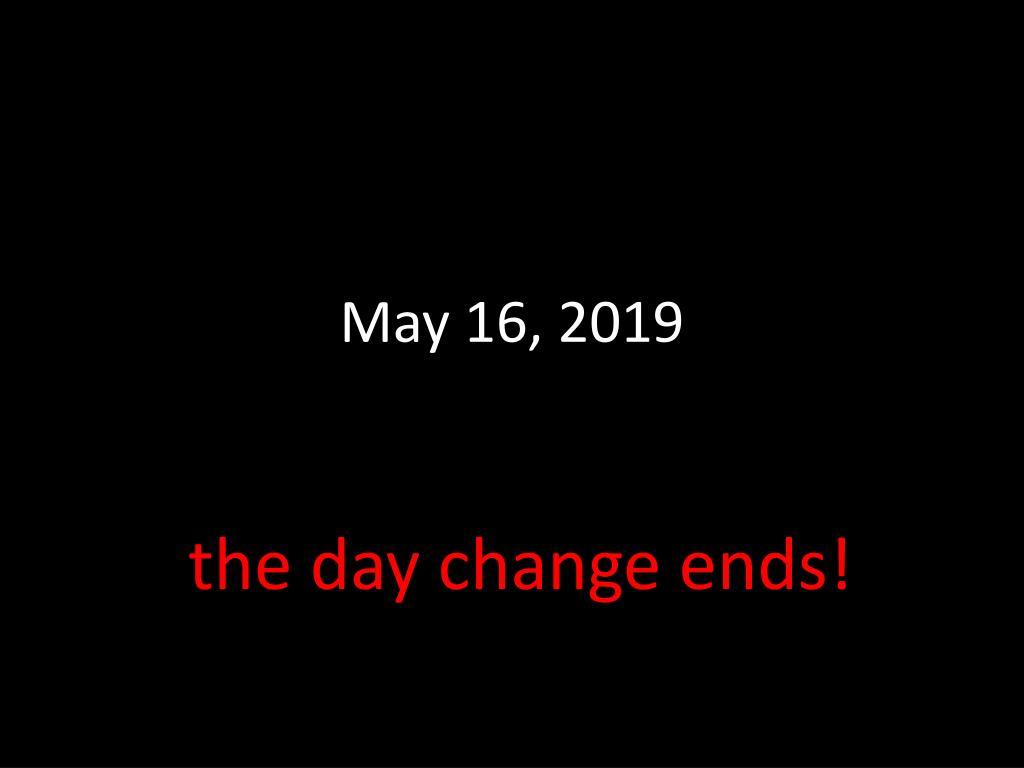 May 16, 2019