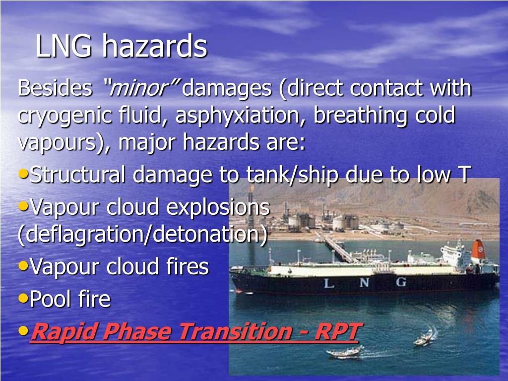 LNG hazards