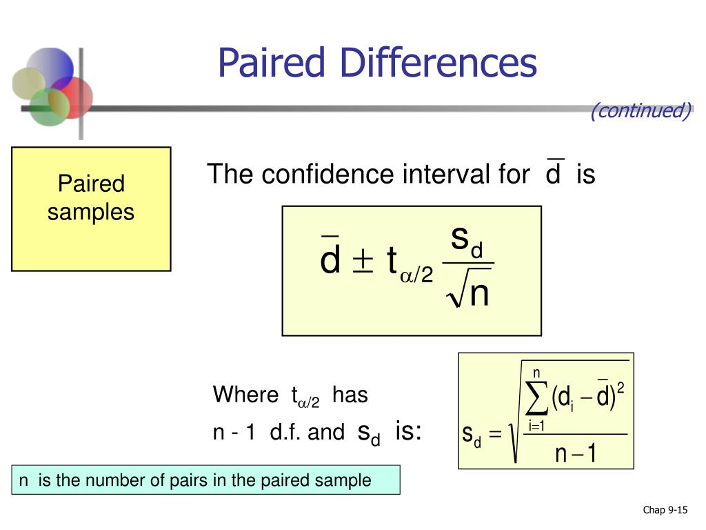 Paired Differences