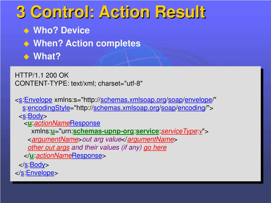 3 Control: Action Result