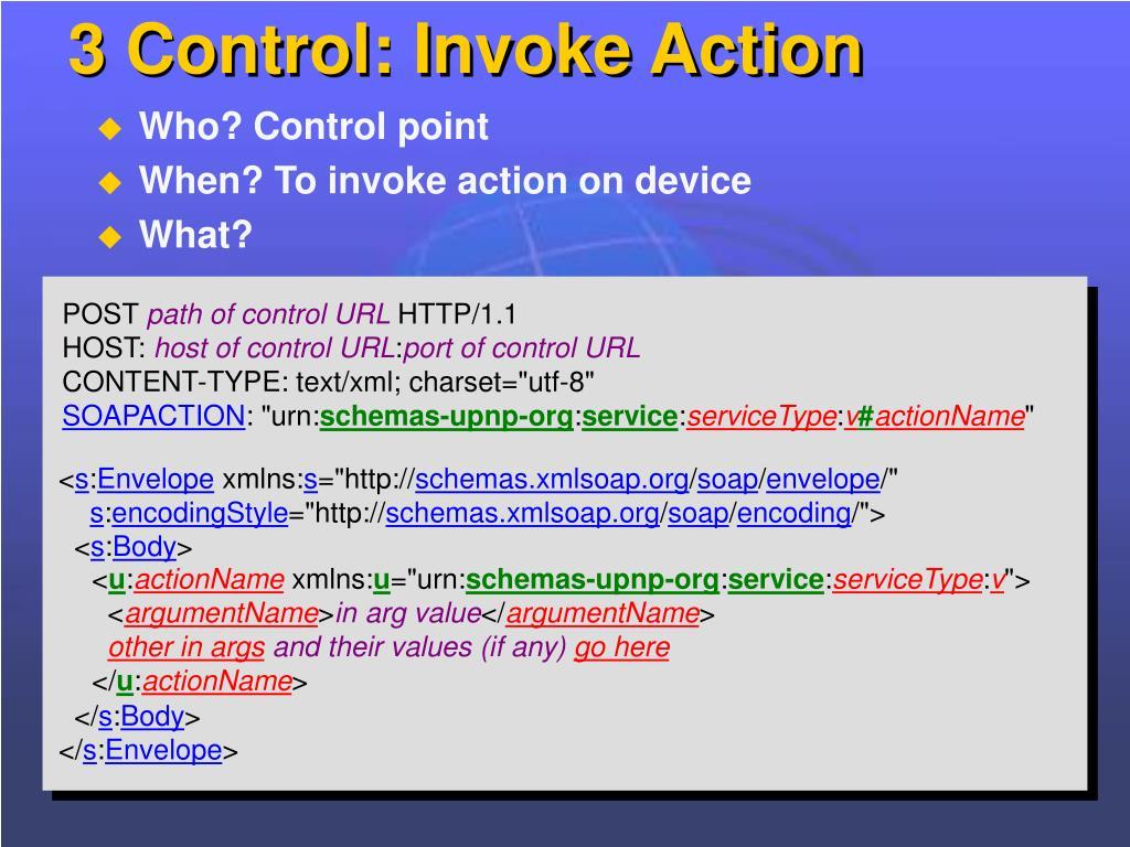 3 Control: Invoke Action