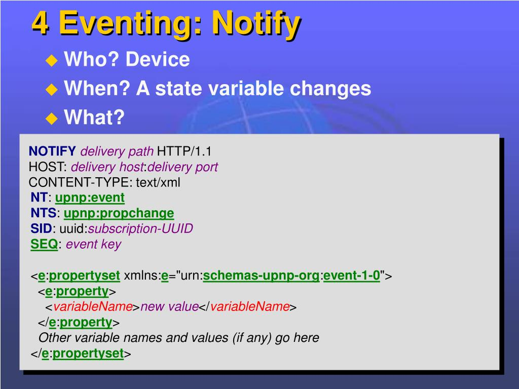 4 Eventing: Notify