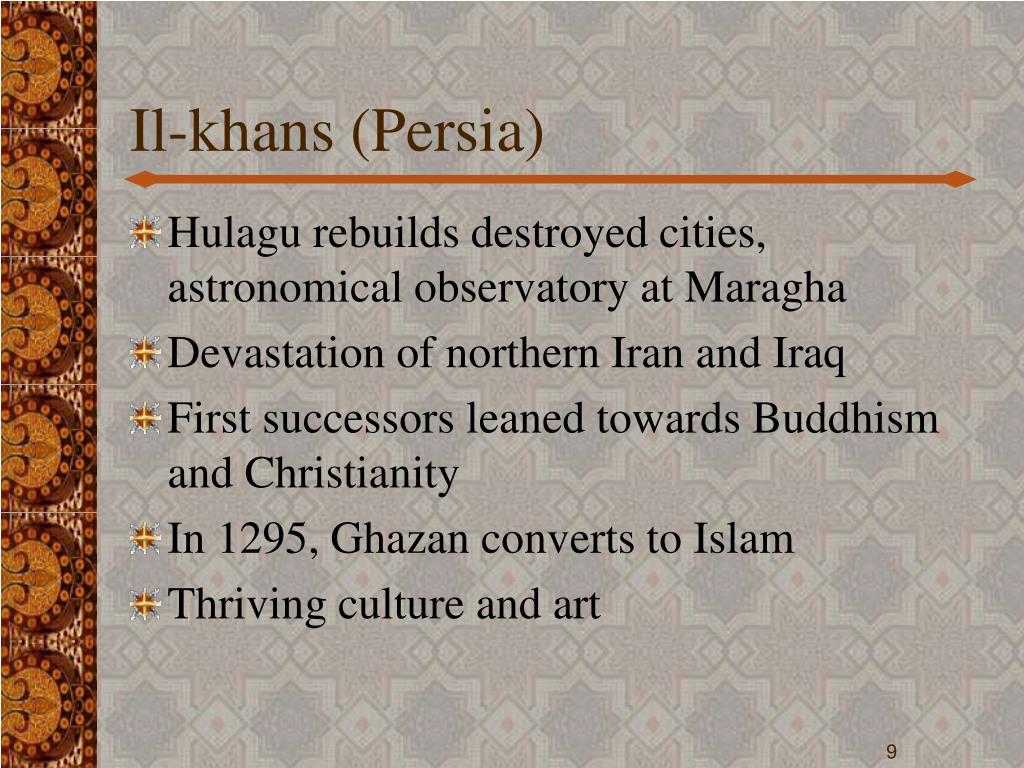 Il-khans (Persia)