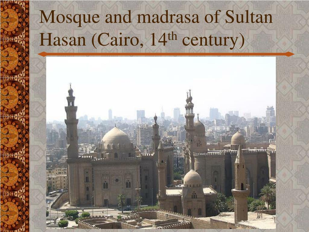 Mosque and madrasa of Sultan Hasan (Cairo, 14