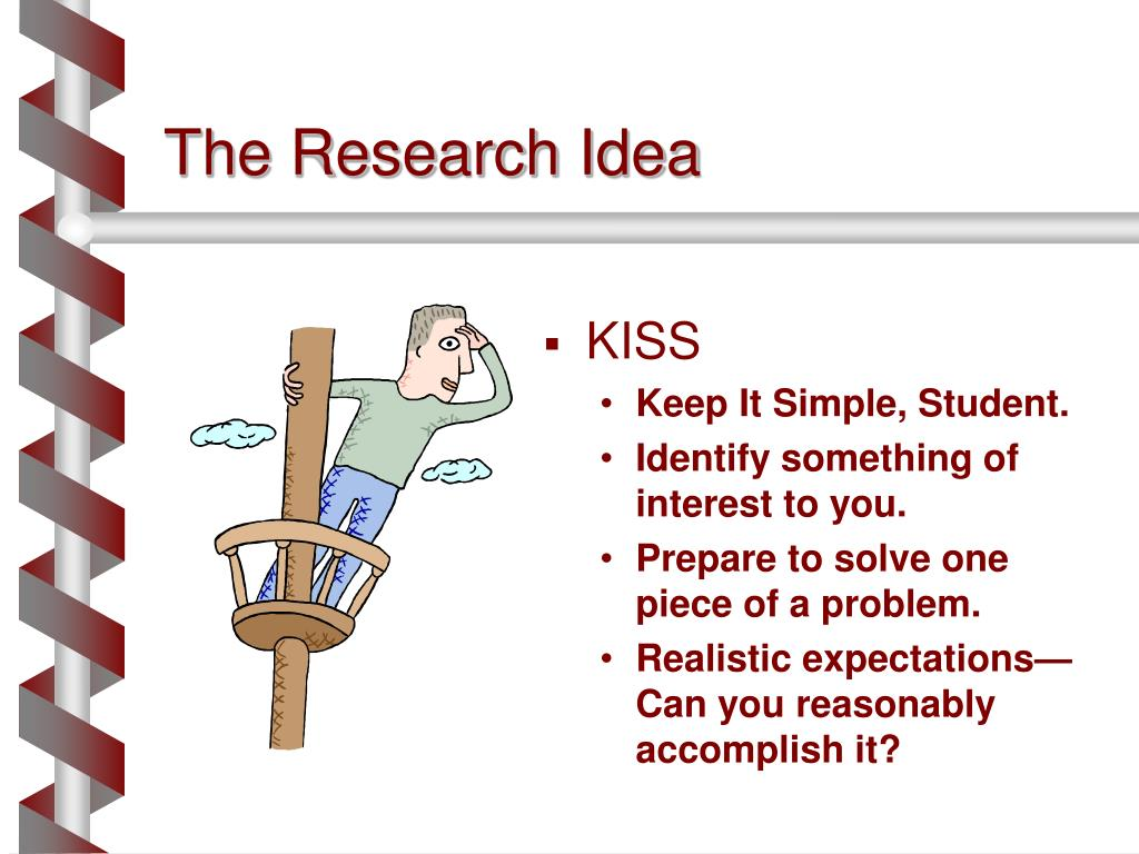 The Research Idea