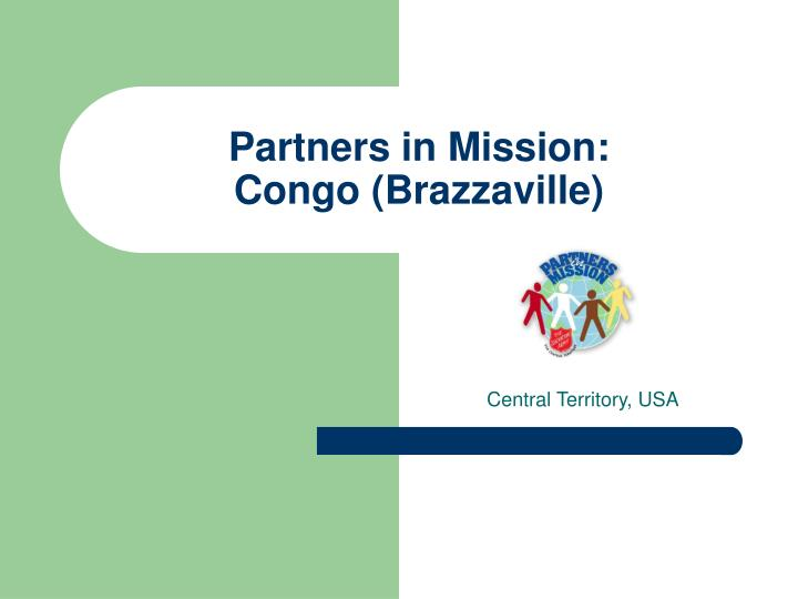 Partners in mission congo brazzaville