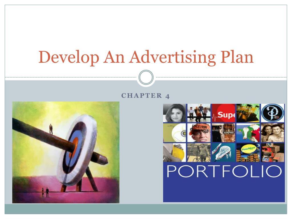 Develop An Advertising Plan